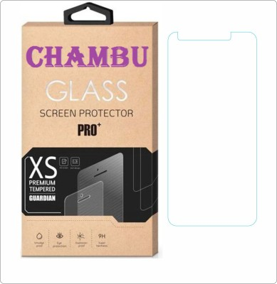 CHAMBU Edge To Edge Tempered Glass for Nokia Asha 306(Pack of 1)