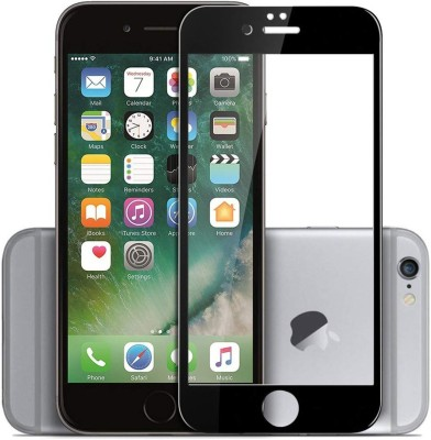 Loffar Edge To Edge Tempered Glass for Apple iPhone 6(Pack of 1)