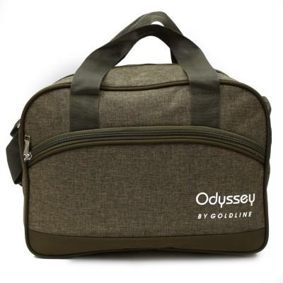 Goldline Polyester Grey Travel Duffles Medium Bag Small Travel Bag   Medium Green Goldline Small Travel Bags