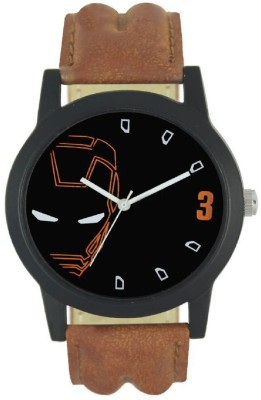 Locate New Iron Man Dial Brown Analog Analog Watch   For Men Locate Wrist Watches