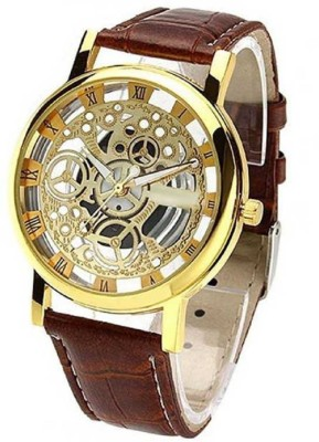 Feston New Arrival Brown Fest Season Special casual Analog Watch  - For Men