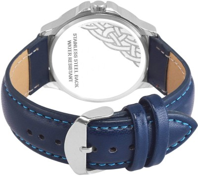 Eagle Fly Foxter FX-472 Blue Display Blue Strap Latest Stylist Premium Quality Different Attractive Look Classic Designers Analog Watch  - For Men