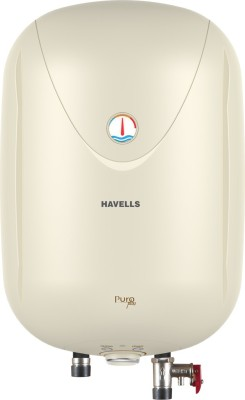 Havells 10 L Storage Water Geyser (Puro Plus, ivory)