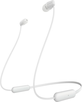 Sony WI**** Bluetooth Headset(White, Wireless in the ear)