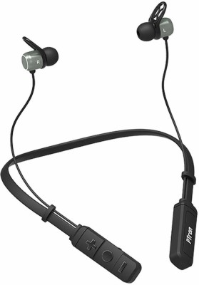 PTron Tangent Evo NeckBand Bluetooth Headset with Mic(Black, In the Ear)