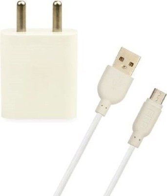 ERD TC 50 Mobile Charger  White, Cable Included  2.1 A Multiport Mobile Charger White, Cable Included