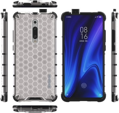 Wellpoint Back Cover for Mi K20, Mi K20 Pro, Mi K20, Mi K20 Pro, Plain, Case, Cover(Black, Grip Case)