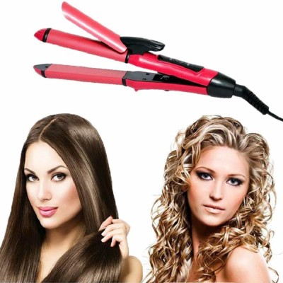 XYDROZEN ®Hair Straightener And Curler For Women With Ceramic Plate - 178GF5 ®Hair Straightener And Curler For Women With Ceramic...