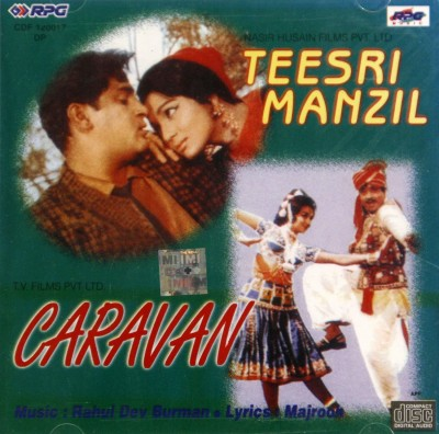Teesri Manzil / Caravan Audio CD Standard Edition Hindi   R.D BURMAN