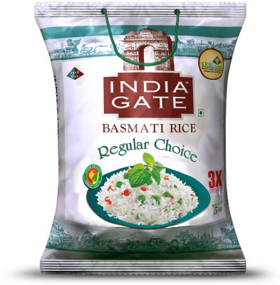 India Gate Regular Choice Basmati Rice (Medium Grain)(5 kg)
