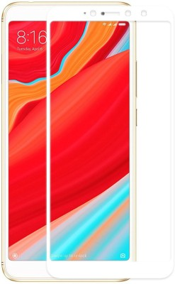 Genron Edge To Edge Tempered Glass for Mi Redmi Y2(Pack of 1)