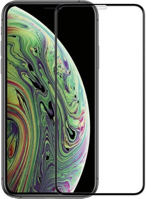 Genron Edge To Edge Tempered Glass for Apple iPhone XS(Pack of 1)