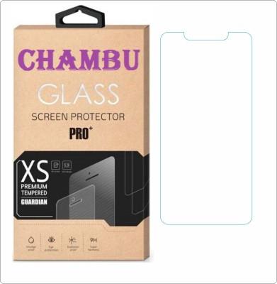 CHAMBU Tempered Glass Guard for MicromaxCanvas Turbo Mini A200(Pack of 1)