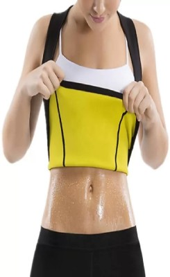 ABS New modal high Quality slimming sweat waist beltand orginal quality4 Slimming Belt(Black)