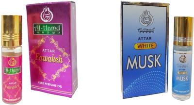 Al-Hamd AROMA GFTD86JK_5 Herbal Attar(Floral, Musk)