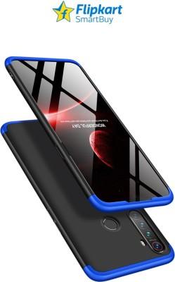 Flipkart SmartBuy Front & Back Case for Realme Narzo 10, Realme 5, Realme 5i, Realme 5s(Blue, Black, Hard Case)