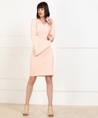 Harpa Women Shift Pink Dress