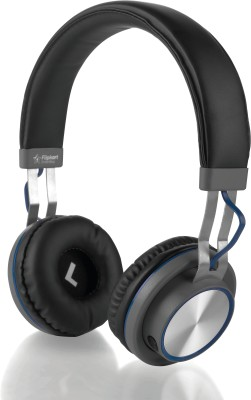 Flipkart SmartBuy Rich Bass Wireless Bluetooth Headset With Mic - Blue(Blue, Wireless over the head)