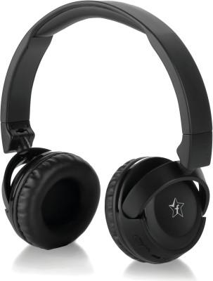 Flipkart SmartBuy BassMoverz 18LY30BK Bluetooth Headset(Black, Wireless over the head)