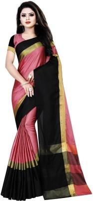 Self Design Gadwal Cotton Silk Saree