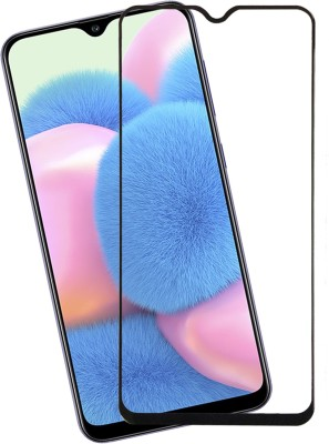 Karpine Edge To Edge Tempered Glass for Samsung Galaxy A30, Samsung Galaxy A30s, Samsung Galaxy A50, Samsung Galaxy A50s, Samsung Galaxy M30, Samsung Galaxy M30s, Samsung Galaxy A20(Pack of 1)