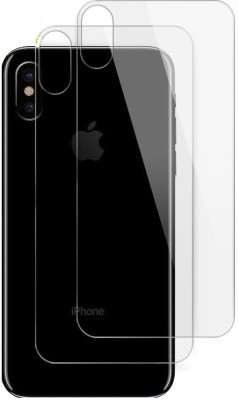 Maxpro Back Tempered Glass for Apple iPhone X, Apple iPhone XS(Pack of 2)