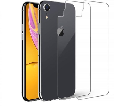 Spinzzy Back Tempered Glass for Apple iPhone XR(Pack of 2)