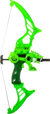 Miss & Chief Dragon War Bow with Light and Sound Armor Sets(Green)