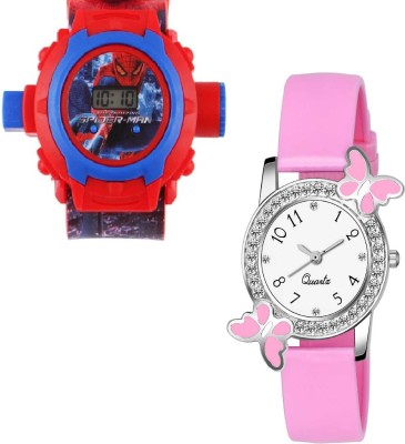 RD YTR Beautiful STANDARD Butterfly And English Girls Kids CHOICE Best For New Generation Analog Watch - For Girls Analog-Digital Watch  - For Boys & Girls