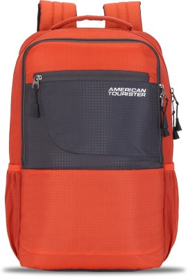 American TouristerCASPAR NXT 03 RUST 22 L Laptop Backpack Orange  American Tourister Backpacks