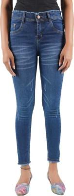 Shopii Slim Women Dark Blue Jeans