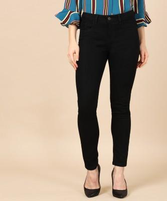 Herway Skinny Women Black Jeans