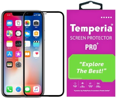 Temperia Edge To Edge Tempered Glass for Apple iPhone 11(Pack of 1)
