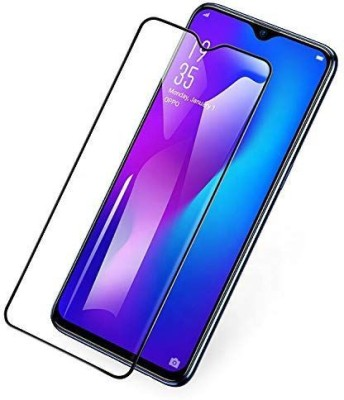 ajd Edge To Edge Tempered Glass for Realme XT, Realme X2(Pack of 1)