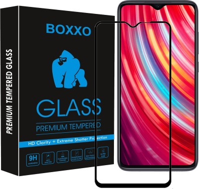Boxxo Edge To Edge Tempered Glass for Mi Redmi Note 8 Pro(Pack of 1)