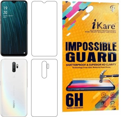 iKare Front and Back Screen Guard for Vivo Y15(Pack of 1)