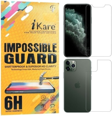 iKare Front and Back Screen Guard for Apple iPhone 11 Pro(Pack of 2)