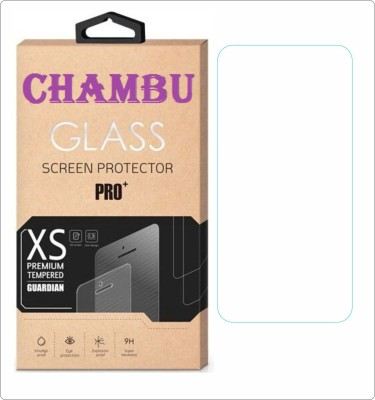CHAMBU Tempered Glass Guard for Micromax A77 Canvas Juice(Pack of 1)