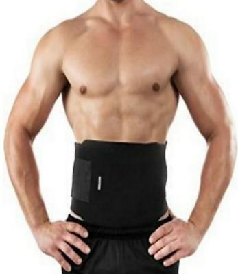 ABS New modal high Quality sweat slim belt for fat reducer 47 Slimming Belt(Black)