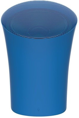Portronics SoundPot POR-725 3 W Portable Bluetooth Speaker(Blue, Stereo Channel)