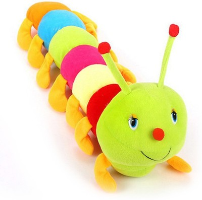 Lata Multicolor Caterpillar 55 cm   55 cm Multicolor Lata Soft Toys
