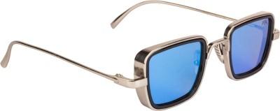 Farenheit Rectangular Sunglasses(Blue)