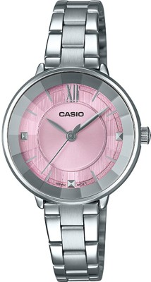 CASIO LTP-E163D-4ADF Enticer Lady's ( LTP-E163D-4ADF ) Analog Watch - For Women