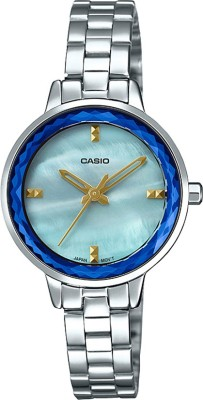 CASIO A1727 Enticer Lady's   LTP E162D 2ADF   Analog Watch   For Women CASIO Wrist Watches