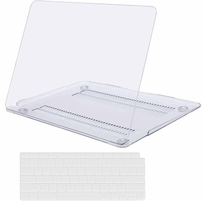 Saco Front & Back Case for Apple MacBook Air 13 inch Retina 2018 Release New Version A1932 Touch ID Case with Keyboard Skin(Transparent, Laptop Case)
