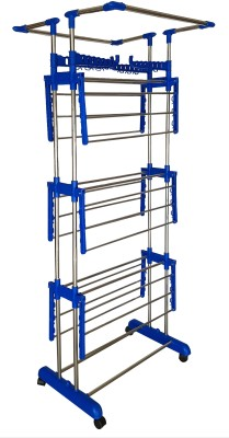 THG Steel Floor Cloth Dryer Stand JUMBO BIGGEST HEIGHT(3 Tier)