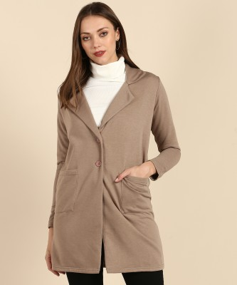 AND Polyester Blend Solid Coat