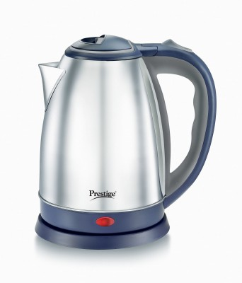 Prestige Atlas Electric Kettle(1.5 L, Blue, Silver)