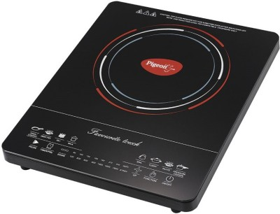 Pigeon Favourite Touch Induction Cooktop(Black, Touch Panel)