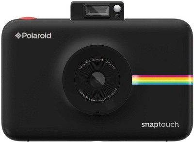Polaroid Snap Touch Black With Premium ZINK Photo Paper   Pack of 30   Instant Camera Black